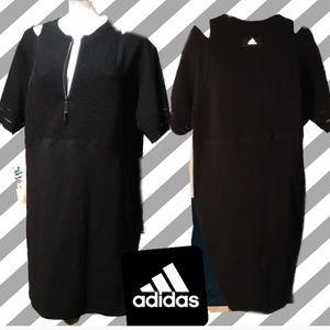 Adidias Body Con Black Dress